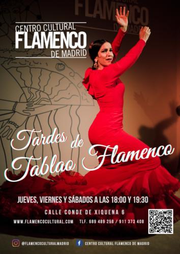 Tardes de tablao flamenco Madrid